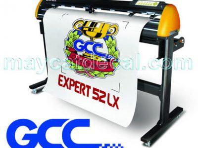Máy cắt bế tem decal GCC Expert 52 LX (Đài Loan)