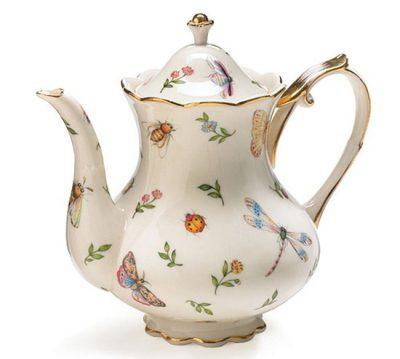 Decal chuyển nhiệt ấm pha trà