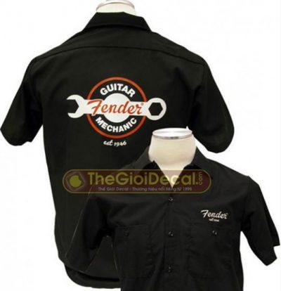 Decal chuyển nhiệt đồng phục công ty