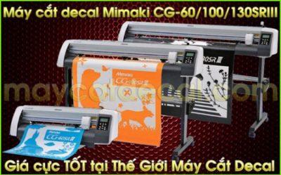 Máy cắt bế tem nhãn Mimaki CG-130SRIII