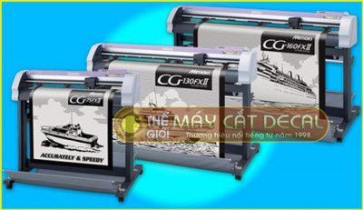 Máy cắt bế tem nhãn Mimaki CG-160FXII Nhật Bản